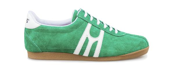 zapatilla deportiva Carmel Verde Blanco Mates